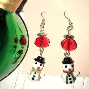 Snowman Earrings snowman ⛄️